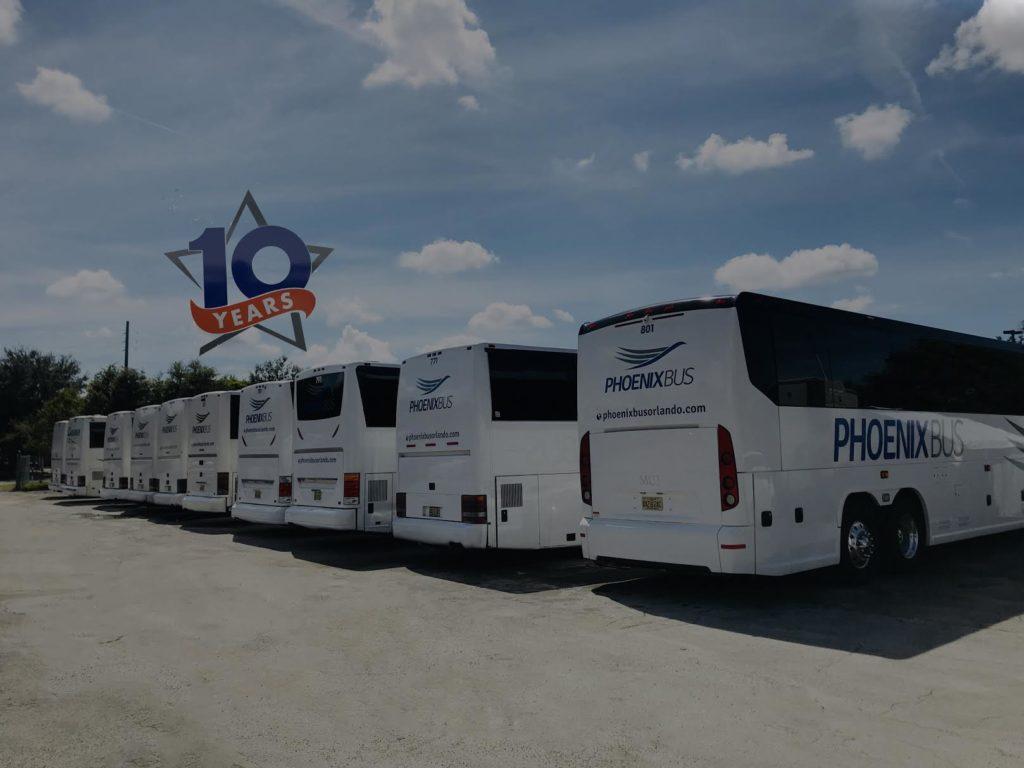 Phoenix Bus Charter Bus Orlando Bus Rental