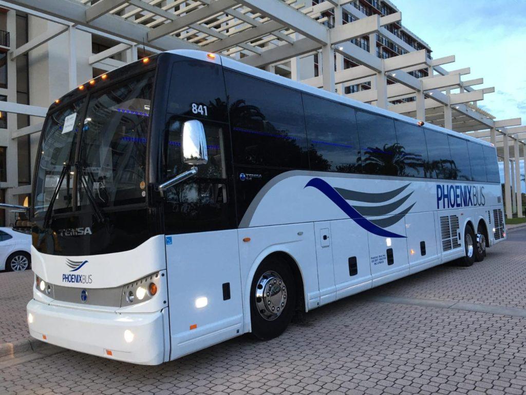 phoenix bus exterior